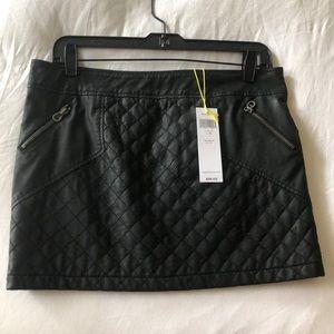 BCBGeneration Leather Mini Skirt (faux)